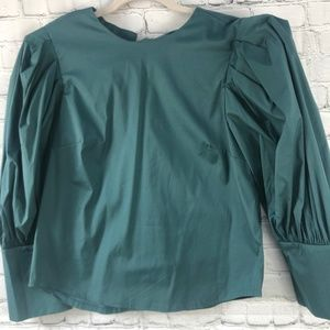 🔵 Zara Blouse Size Medium